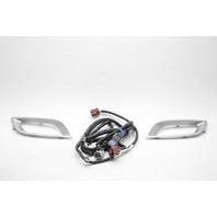 OEM Mazda 3 Front Lamp Bezel Set w/Wiring BDL4-V7-220 Silver