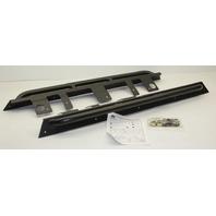 New Old Stock OEM Jeep Wrangler TJ (SWB) Running Board Kit 82209218 Black