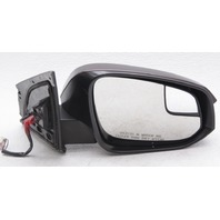 OEM RAV4 Right 7-Wire Side View Mirror 87915-0R060 Currant Met Purple Scratches