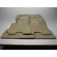 2005-2009 New OEM Hyundai Tucson Beige/Tan Floor Mat Set