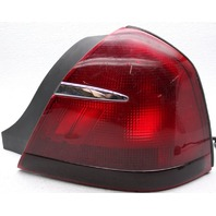 OEM Mercury Grand Marquis Right Passenger Side Tail Lamp Chrome Scratch