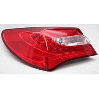 OEM Chrysler 200 Sedan Left Driver Side LED Tail Lamp 518252AE Lens Crack