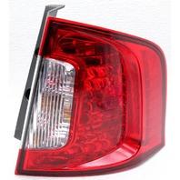 OEM Ford Edge Right Passenger Side Halogen Tail Lamp Lens Crack BT4Z-13404-B