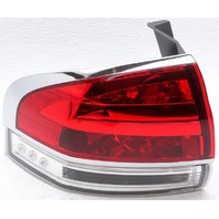 OEM Lincoln MKX Left Driver Side LED Tail Lamp Lens Chipped BA1Z-13405-A