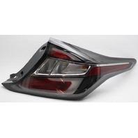 OEM Chevrolet Volt Outer Right Passenger Side Tail Lamp 23413609 Lens Chip