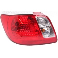 OEM Kia Rio Left Driver Halogen Tail Lamp Moisture Inside 924011G000