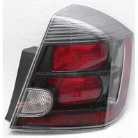 OEM Nissan Sentra SE-R Spec Outer Right Side Tail Lamp 26550-ET80C Lens Crack