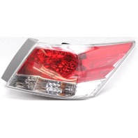 OEM Honda Accord Sedan Right Halogen Tail Lamp lens Crack 33500TA0A01