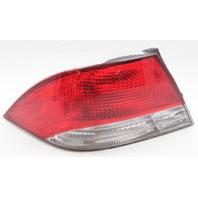 OEM Mitsubishi Lancer Left Driver Side Tail Lamp MR522033 Lens Crack