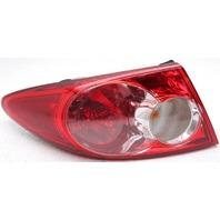 OEM Mazda 6 Left Driver Side Tail Lamp Lens Crack GK2A51160C