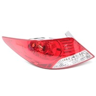 OEM Hyundai Accent Sedan Outer Left Driver Side Tail Lamp 92401-1R010 Lens Chip