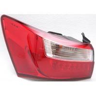 OEM Kia Rio Sedan Left Driver Side LED Tail Lamp 92401-1W070