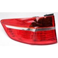 OEM BMW X6 Left Driver Side Halogen Tail Lamp Lens Crack