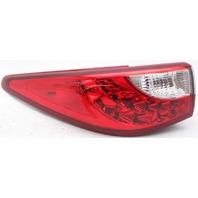 OEM Infiniti JX35 QX60 Left Driver Side Tail Lamp Lens Crack 26555-3JA0A