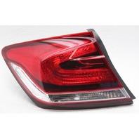 OEM Honda Civic Sedan Left Driver Side Tail Lamp 33550TR0A51 Outer Peg Gone