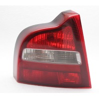 OEM S80 Left Driver Side Quarter Mounted Tail Lamp 9187922 Chrome Faded