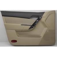 OEM Chevorlet Aveo Front Left Door Trim Panel 95996934 Beige Black