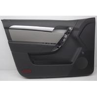 OEM Chevrolet Aveo Black Left Driver Side Front Door Trim Panel 96956707