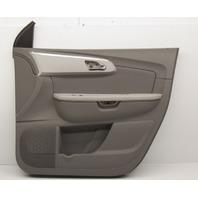 OEM Chevrolet Traverse Front Right Side Door Trim Panel 20952614 Titanium