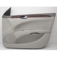 OEM Buick Lucerne Front Right Door Trim Panel 25851092 Gray