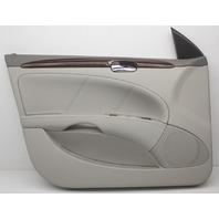 OEM Buick Lucerne Front Left Door Trim Panel 25851091 Gray