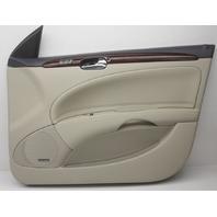 OEM Buick Lucerne Front Right Door Trim Panel 15826378 Tan w/Heat & Cool