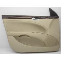 OEM Buick Lucerne Front Left Door Trim Panel 20938189 Shale w/Wood Trim