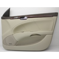 OEM Buick Lucerne Right Front Door Trim Panel 20938169 Shale w/Wood Trim