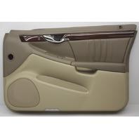 OEM DeVille Front Right Door Trim Panel 10389979 Cashmere & Tan w/Wood Trim