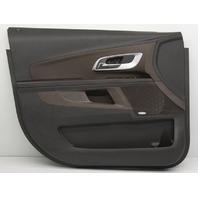 OEM Equinox Left Driver Side Front Door Trim Panel 20872520 Black & Brown