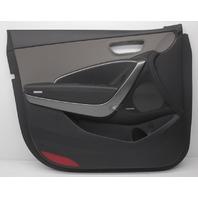 OEM Hyundai Santa Fe Black Front Left Driver Side Door Trim Panel 82307-B8040VFG