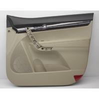 OEM Kia Sorento Right Front Door Trim Panel 82302-1U080AL7 Black & Tan