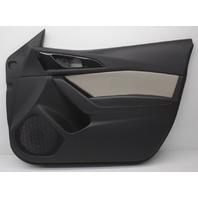 OEM Mazda 3 Front Right Door Trim Panel BHN968420F34 Black w/Gray Insert