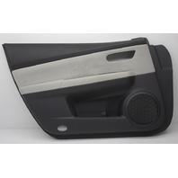 OEM Mazda 6 Front Left Door Trim Panel GS3N-68-460H74 Black Leather Gray Cloth