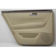 OEM Cadillac DTS Lemousine Hearse Rear Left Door Trim Panel 15850589 Cashmere