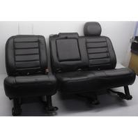 OEM Hummer H2 Rear Black Leather Seat