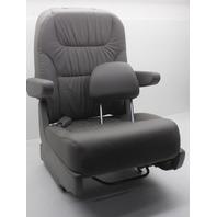 OEM Honda Odyssey Rear Left Bucket Seat Gray Leather