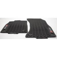 OEM Audi SQ5 Front Floor Mat 80B061221A041 Black