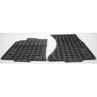 OEM Audi Q5 Front Floor Mat 8R1061501041 Black