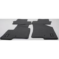 OEM Jeep Patriot Compass 4-Piece Floor Mat Set 82211216 Gray Carpet