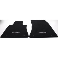 OEM Genesis G80 Front Floor Mat Set B1F14-AU000RRY Black
