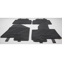 OEM Hyunadi Tucson 4-Piece Rubber All Weather Floor Mat Set 2SF13-AC600 Black