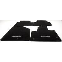 OEM Hyundai Santa Fe Floor Mat Set 4ZF14-AC005RYN Black