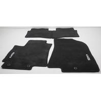 OEM Kia Rio 4-Piece Floor Mat Set 1WF14-AC300HU Black