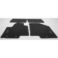 OEM Kia Soul 4-Piece Black Carpeted Floor Mat Set 2KF14-AC200WK