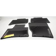OEM Volkswagen Touareg Floor Mat Set 7P1061550041 Black