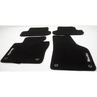 OEM Volkswagen Beetle Floor Mat Set 5C1061370AFBN Black
