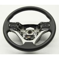 OEM Honda Civic Steering Wheel 78501-TR0-N61ZA Black Vinyl Nicked