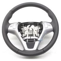 OEM Hyundai Genesis Urethane Steering Wheel Black w/Silver Trim 56110-2M260-9P