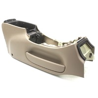 OEM Ford ExpeditIon Bare Tan Front Center Console F75Z-78045A36-AAA Scratch